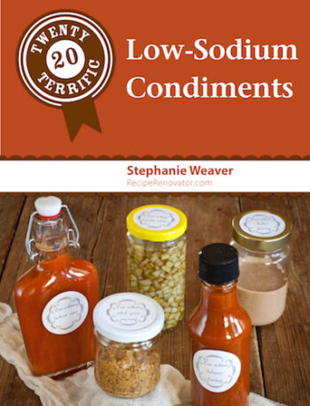 20 Terrific Low-Sodium Condiments